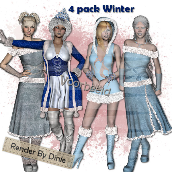 4 Pack DiPo Winter