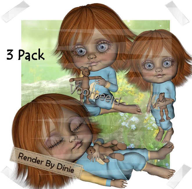 MyDolly-DiPo-3 Pack